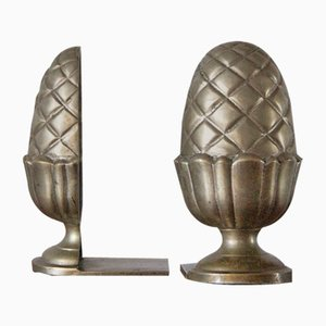Mid-Century Acorn Bookends, 1960s, Set of 2