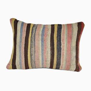 Vintage Striped Kilim Pillow