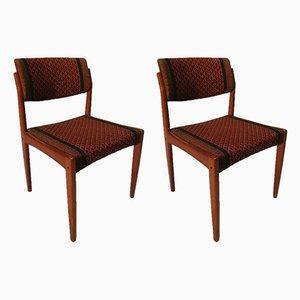 Chaises de Salon en Teck par HW Klein pour Bramin, Danemark, 1960s, Set de 2