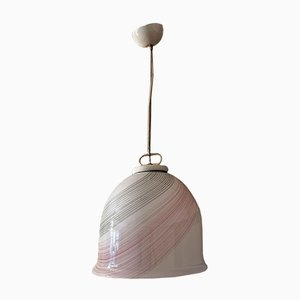 Murano Colored Glass Pendant Lamp, Italy, 1970s