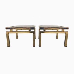 Side Tables from Belgo Chrom / Dewulf Selection, 1970s, Set of 2