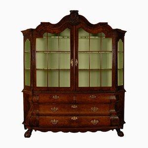Louis XV Rococo Dutch Display Cabinet