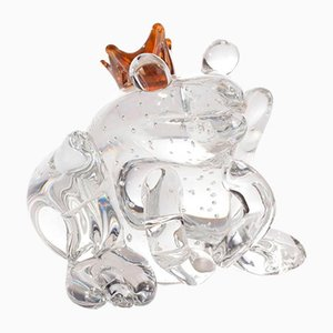 Italian Glass Frog Prince from Vgnewtrend