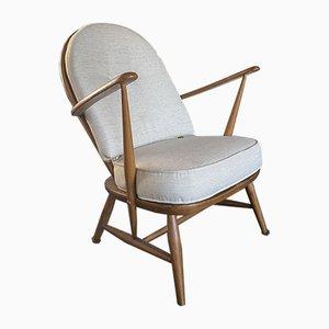 Lehnstuhl im spindelförmigen Stil im skandinavischen Stil von Ercol, 1950er