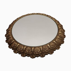 Specchio Mid-Century in ottone
