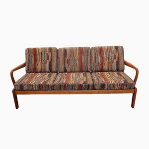 Sofá de teca de Olsen & Laursen, años 60
