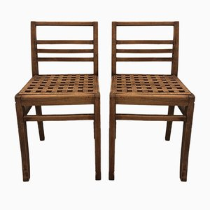 Dining Chairs by René Gabriel, 1941, Set of 2