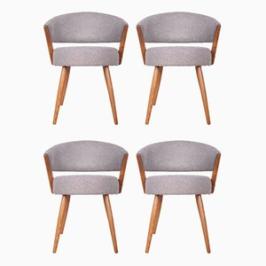 Modernist Swedish Dining Chairs, 1960s, Set of 4