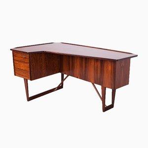 Mid-Century Boomerang Rosewood Desk by Peter Løvig Nielsen, 1970s