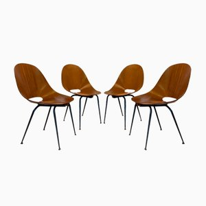 Dining Chairs by Campo & Graffi, 1960s, Set of 4