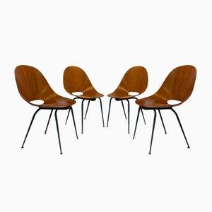 Esszimmerstühle von Campo & Graffi, 1960er, Set of 4
