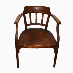 Antique No. 141 Secession Desk Chair by Otto Wagner for Thonet Mundus