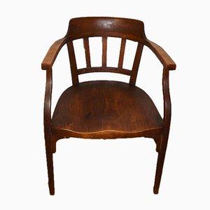 Sedia da scrivania Secessione nr. 141 antica di Otto Wagner per Thonet Mundus