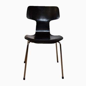 Sedia da pranzo Hammer di Arne Jacobsen per Fritz Hansen, anni '70
