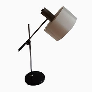 Adjustable Table Lamp with Chromed Metal Frame, 1970s