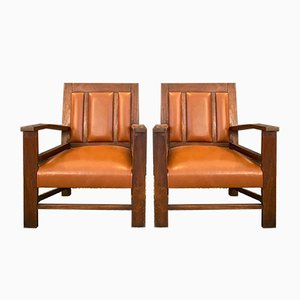 Colonial Armchairs, 1944, Set of 2