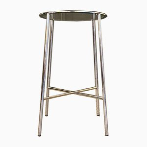 Side Table with Pedestal Top, 1970s