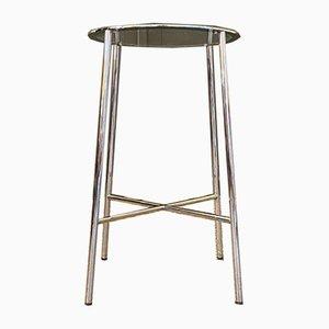 Tavolino con ripiano a piedistallo, anni '70