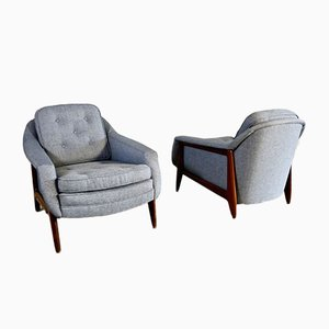 Stella Armchairs by Sergio Rodrigues for OCA, 1960s, Set of 2