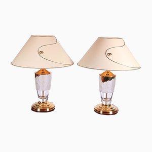 Lámparas de mesa Safari de Nachtmann Leuchten, años 70. Juego de 2