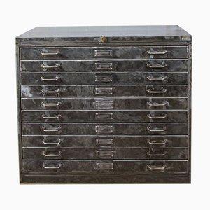 Flat-Filing Blueprint Cabinet, 1950s