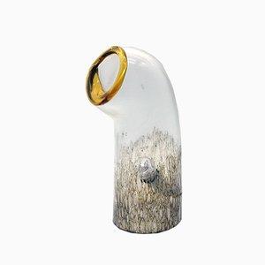 Murano Blown Glass Table Lamp from Vistosi, 1970s