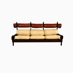 Rosewood Sofa by Sergio Rodrigues for Meia Pataca, 1960s