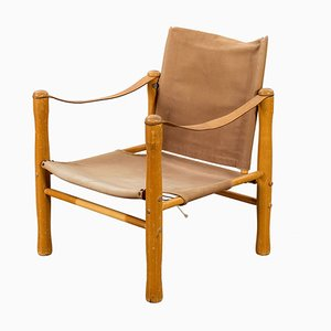 Trivia Safari Armchair by Elias Svedberg for Nordiska Kompaniet, 1940s
