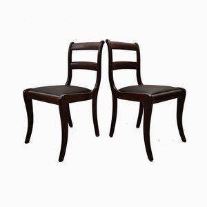 Vintage Esszimmerstühle aus Mahagoni von Randers Møbelfabrik, 1960er, 4er Set