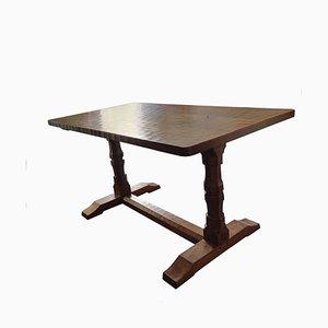 Tavolo da pranzo vintage in quercia di Wilf Hutchinson