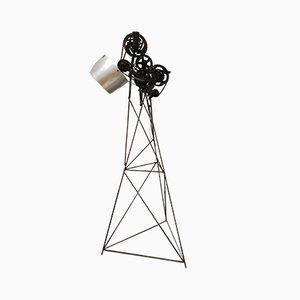 Industrielle Vintage Stehlampe, 1970er