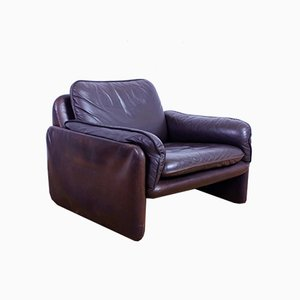 Leather Model DS 16 60 Lounge Chair from de Sede, 1960s
