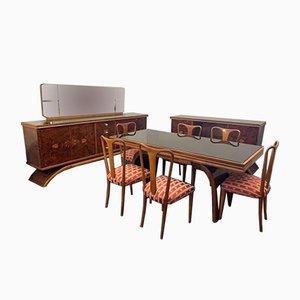Art Deco Sideboards von Guglielmo Ulrich, 1930er, 10er Set