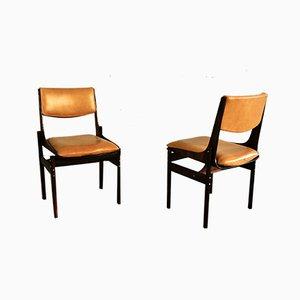 Sedie da pranzo di JD Moveis e Decorações, anni '60, set di 6