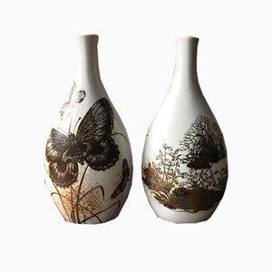 Vasen von Nils Thorsson für Royal Copenaghen, 1960er, 2er Set
