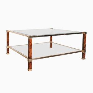 Table Basse 2-Niveaux Vintage par Pierre Vandel pour Pierre Vandel Paris