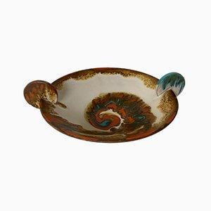 Dänische Mid-Century Keramikschale