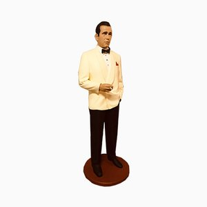 Life Size Humphrey Bogart Statue