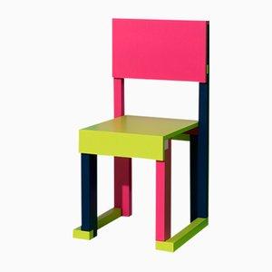 Easydia Junior Venezia Stuhl von Massimo Germani Architetto für Progetto Arcadia