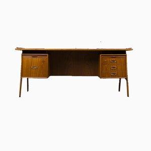 Vintage Mid-Century Danish Teak Desk, 1960s