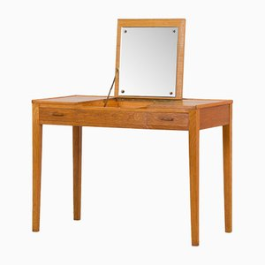 Danish Oak Vanity Desk from Kvaenderup Mobelfabrik, 1960s
