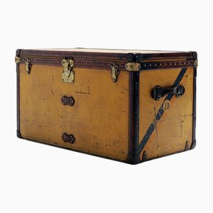 Antique Yellow Vuittonite Suitcase from Louis Vuitton
