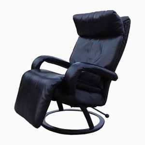 Black Leather Gaga Lounge Chair by Percival Lafer for Percival Lafer, 1998