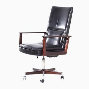 Danish Executive Chair by Arne Vodder for Sibast, 1960s