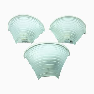 Egisto 28 Sconces by Angelo Mangiarotti for Artemide, 1980s, Set of 3
