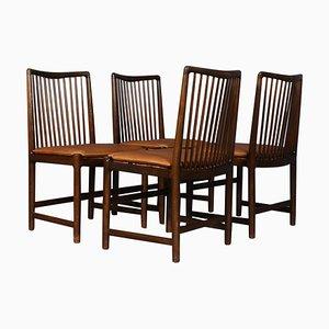 Stühle von Hans J. Wegner, 1950er, 4er Set