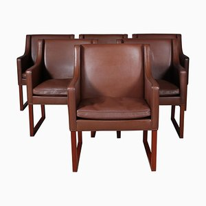 Mid-Century Model 3246 Armchairs by Børge Mogensen for Fredericia, Set of 6