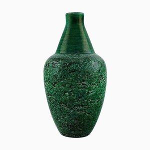 Vase in Glazed Stoneware by Mari Simmulson for Upsala-Ekeby, 1960s