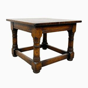 Small Vintage Square Coffee Table