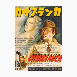 Casablanca Poster, 1946